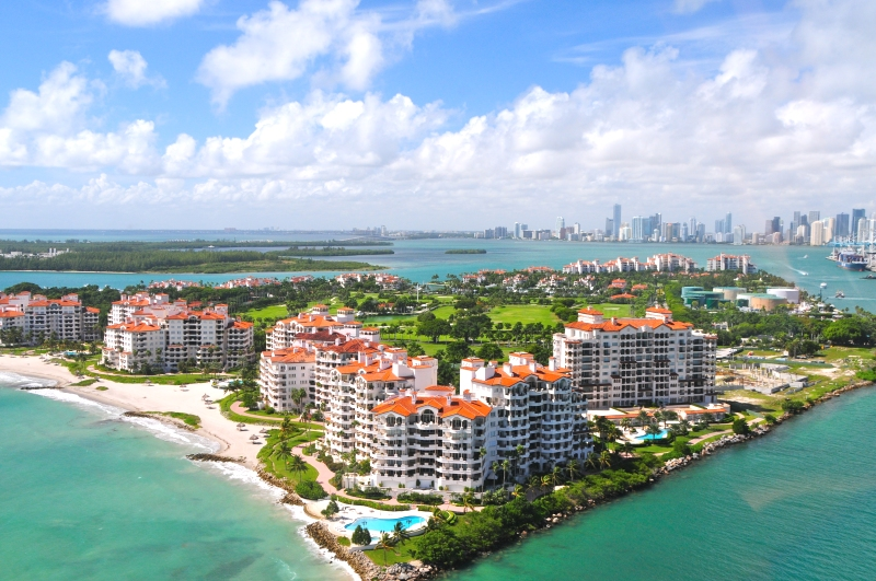 Fisher Island in Miami Beach