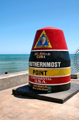 Der Southernmost Point in Key West